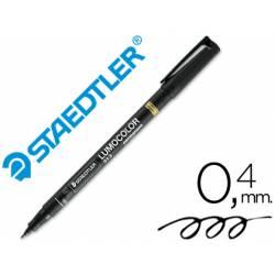 Rotulador Retroproyección Permanente Staedtler Lumocolor 313 Color Negro Punta Superfina Redonda
