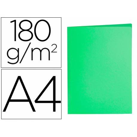Subcarpeta cartulina Din A4 Liderpapel color verde