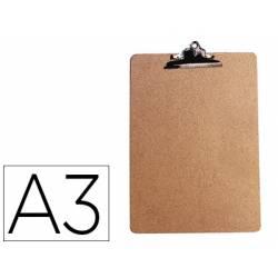 Portanotas Q-Connect material extraduro A3 marron