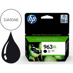 INK-JET HP 963 XL OFFICEJET PRO 9010 / 9020 / 9022 / 9023 / 9025 NEGRO 2000 PAGINAS