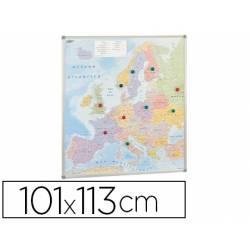 Mapa mural de Europa politico magnetico marca Faibo