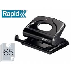 Taladrador Rapid FM20 color negro capacidad para 20 hojas