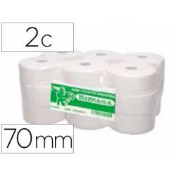 Papel higienico jumbo CSP 2 capas para dispensador kf16756