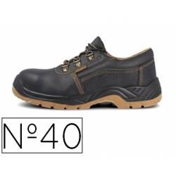 Zapatos de seguridad marca Paredes Color Negro talla 40