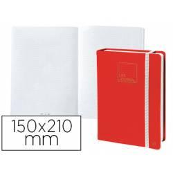 Libreta Quo Vadis Life Journal Infinite Dots 150x210 mm Puntos Tapa Similpiel Rojo