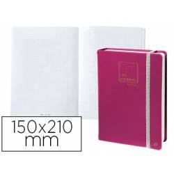 Libreta Quo Vadis Life Journal Infinite Dots 150x210 mm Puntos Tapa Similpiel Ciruela
