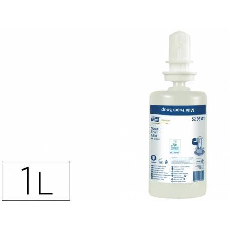 Jabon en espuma marca Tork S4 Aroma delicado rehidratante 1 litro
