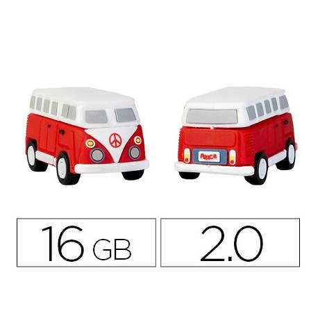Memoria Flash USB de Technotech 16 GB Hippy Van Bang Camper