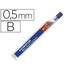 Minas Staedtler Mars Micro 0,5 mm B grafito Tubo con 12 unidades