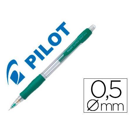 Portaminas Pilot Super Grip 0,5mm color verde