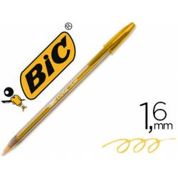 Boligrafo Bic Cristal Fun 1,6 mm Color Naranja