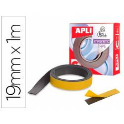 Cinta adhesiva magnetica Apli medida 19mm x 1m