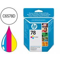 Cartucho marca HP 78 Tricolor C6578DE