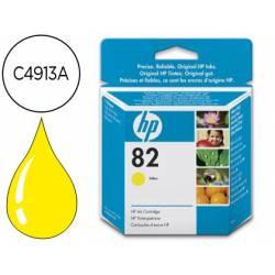 Cartucho HP 82 color Amarillo C4913A