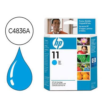 Cartucho HP 11 color Cian C4836A