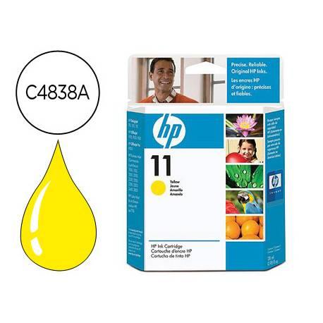 Cartucho HP 11 color Amarillo C4838A