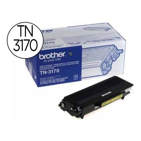 Toner marca Brother TN-3170 Negro