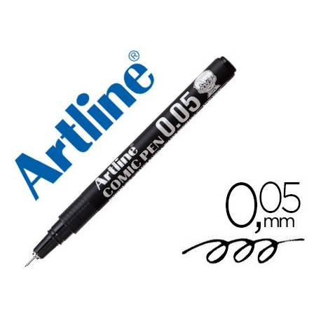 Rotulador Color Negro Artline EK-2805 Calibrado Micrométrico 0,05 mm