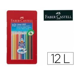 Lapices de Colores Marca Faber Castell Acuarelable Caja Metalica 12 colores