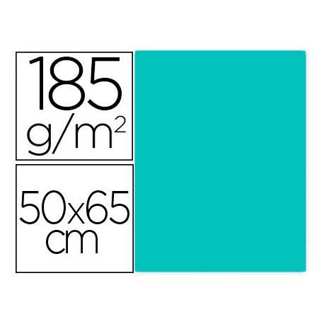 Cartulina Gvarro color Verde Menta 50x65 cm 185 gr