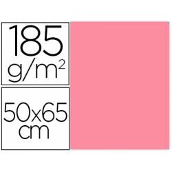 Cartulina Gvarro color Rosa Chicle 50x65 cm 185 gr