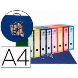 Archivador de palanca Liderpapel Filing System con caja A4 Lomo 80 mm colores Surtidos