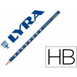 Lapiz de grafito marca Lyra Groove Slim mina Hb