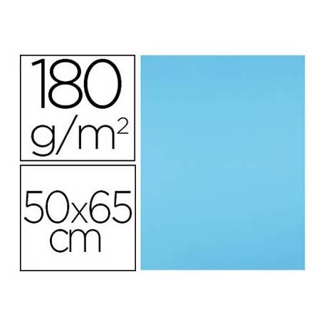 Cartulina Liderpapel Color Azul Turquesa Paquete de 25