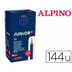 Lapices de grafito Alpino Masats Junior HB Caja de 144 uds