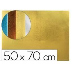 Goma eva Liderpapel Metalizada Oro 50x70 cm