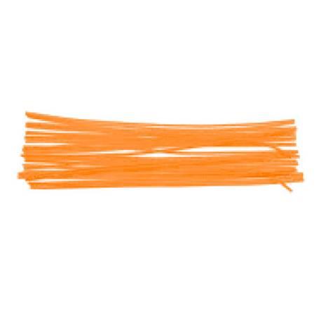 Varillas de chenille 50 cm naranja surtidos itKrea