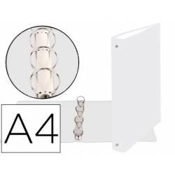 Carpeta Exacompta carton blanca 4 anillas