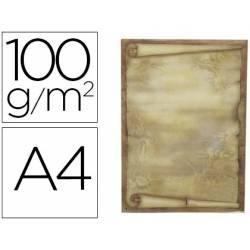 Papel pergamino Liderpapel A4 diploma gramaje 100g/m2