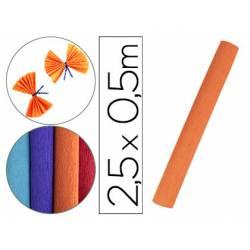 Papel Crespon Liderpapel color Naranja