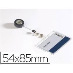 Identificador con cordón marca Durable