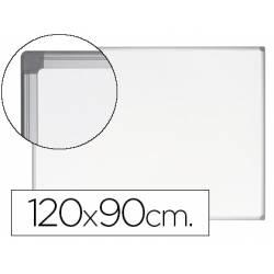 Pizarra Blanca Vitrificada Magnetica Earth-it con marco de aluminio 120x90 Bi-Office