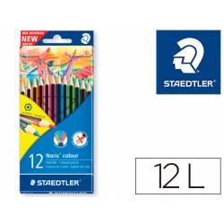 Lapices de 12 colores marca Staedtler Wopex ecologico