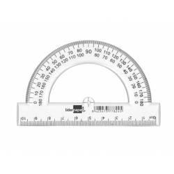 Semicírculo de plástico Marca Liderpapel 2 escalas