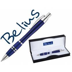 Boligrafo Belius Kassel color Azul Trazo medio
