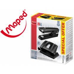 Kit Grapadora + taladradora Maped Essentials