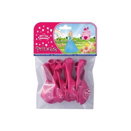 Globos Princesas bolsa 8 unidades
