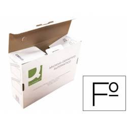 Caja archivo definitivo Q-connect folio cierre con lenguetas 255x360x100 mm