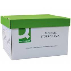 Cajon Q-connect para 3 cajas archivo definitivo A4 montaje manual