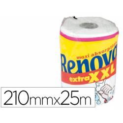 Papel cocina marca Renova jumbo ultra absorbente