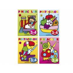 Cuaderno para colorear 3 a 4 años Pintacolor 16 Páginas (NO SE PUEDE ELEGIR)