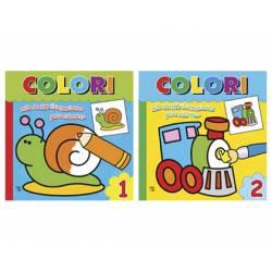Cuaderno para Colorear Colori 2 Titulos diferentes 96 páginas