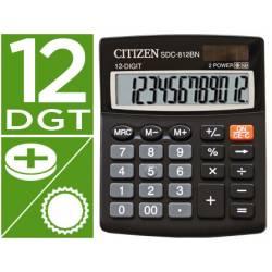 Calculadora sobremesa Citizen Modelo SDC-812-BN