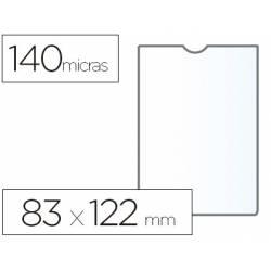 Funda portadocumento marca Esselte plastico cristal 83 x 122 mm