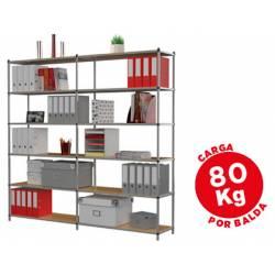 Estanteria marca Paperflow metalica 6 estantes
