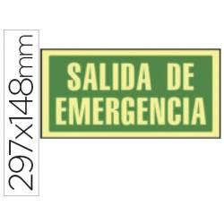 Señal marca Syssa salida emergencia